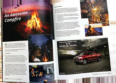 Trailer Parks Canada Magazine inside