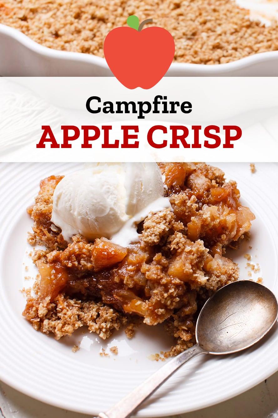 Campfire Apple Crisp