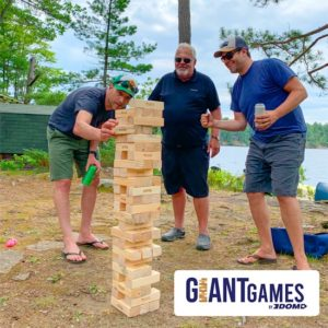 Giant Games for the cottage or campground