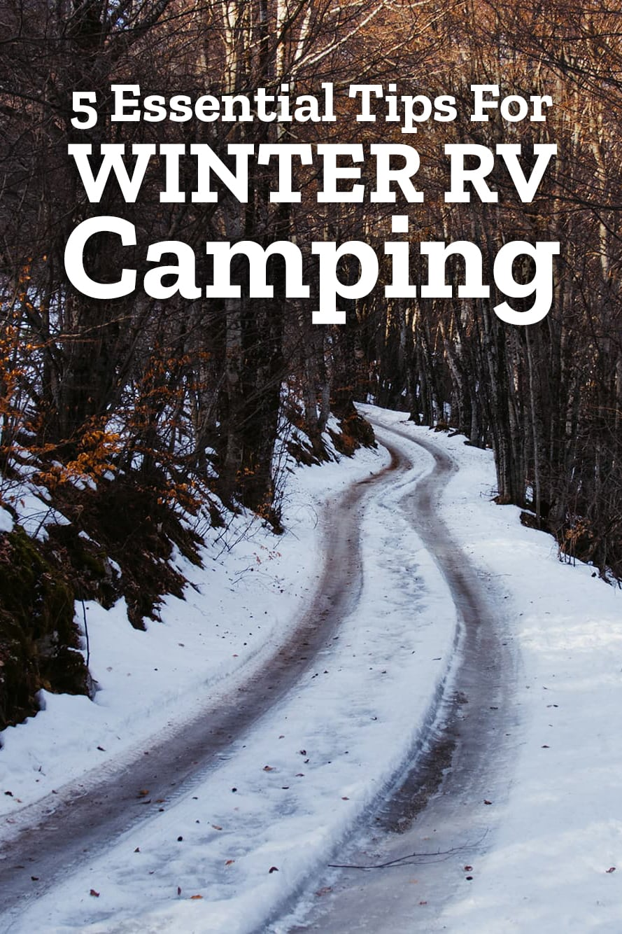 Winter RV Camping Tips